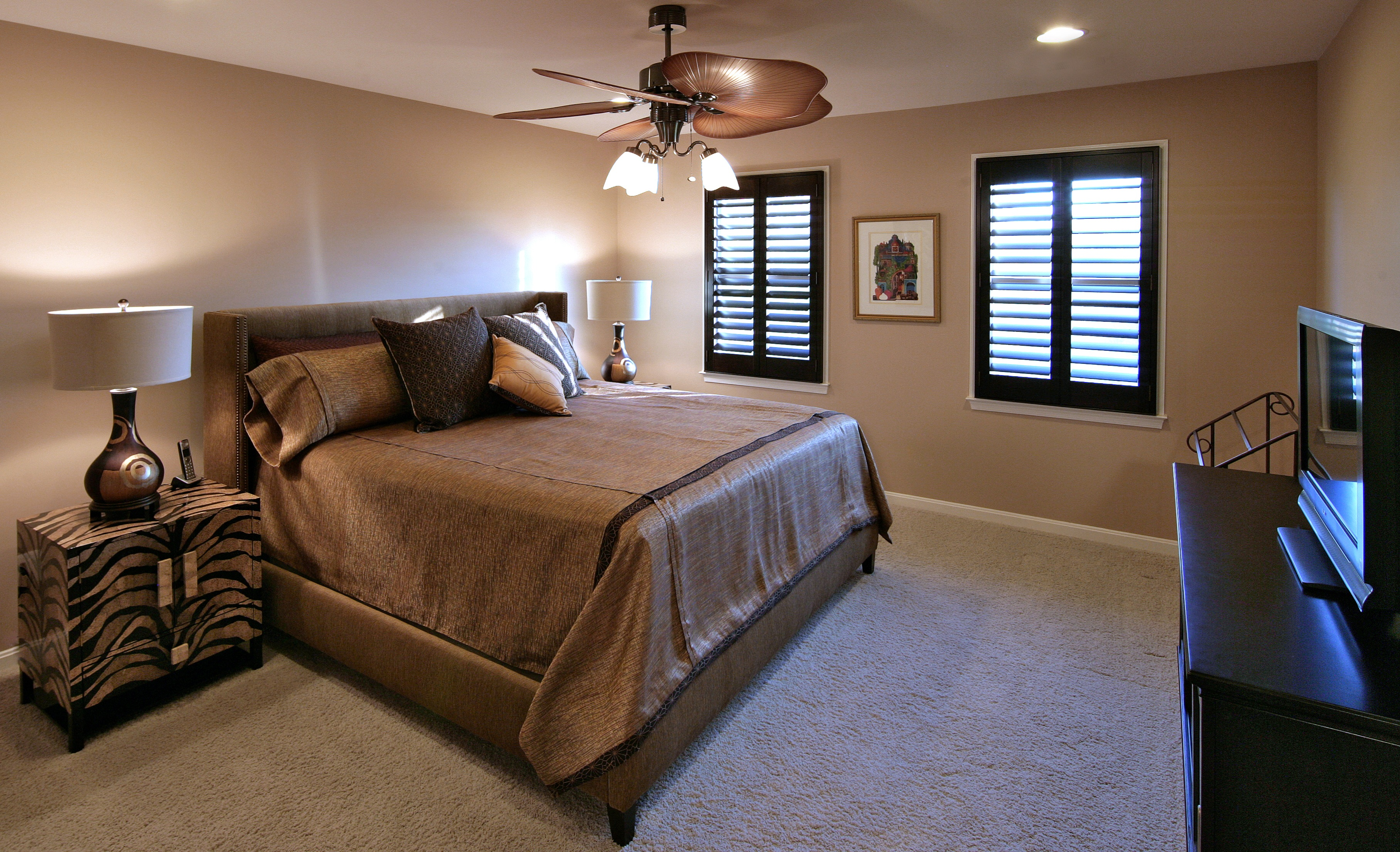 The Newly Remodeled Master Bedroom