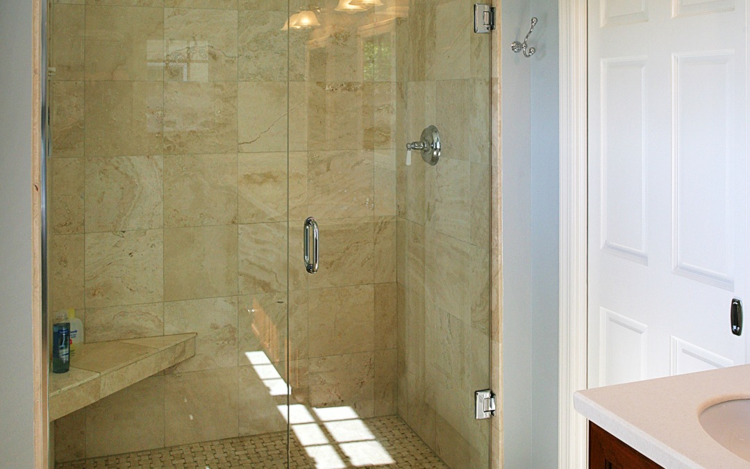The new luxury master shower