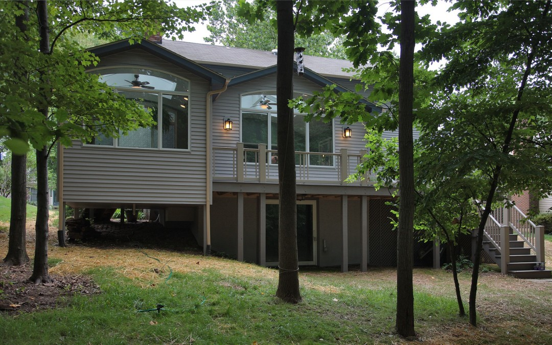 Silver Spring Maryland - Sunroom Addition - Deck - Interior Exterior Remodeling - M (12)