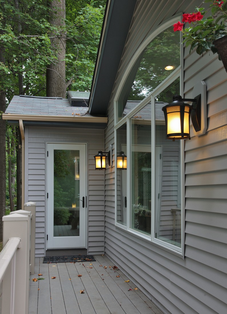 Silver Spring Maryland - Sunroom Addition - Deck - Interior Exterior Remodeling - M