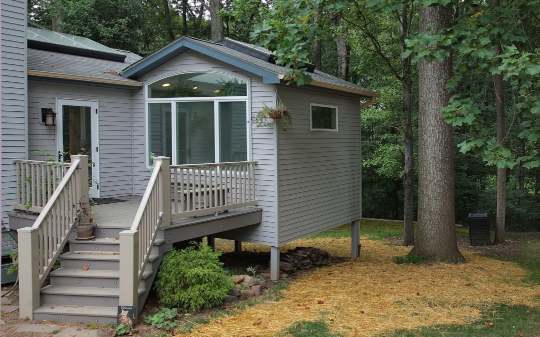 Silver Spring Maryland - Sunroom Addition - Deck - Interior Exterior Remodeling - M (24)