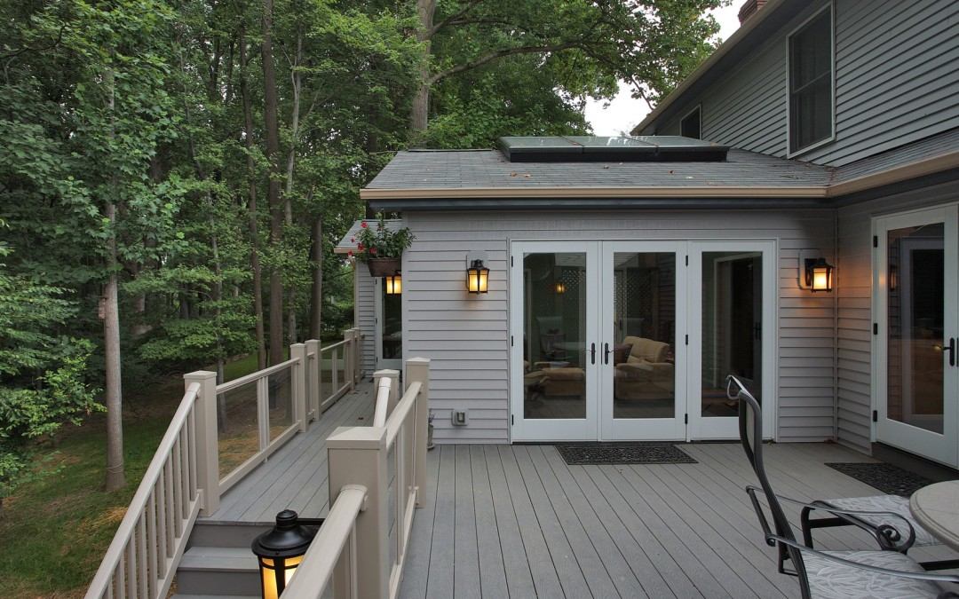Silver Spring Maryland - Sunroom Addition - Deck - Interior Exterior Remodeling - M (29)