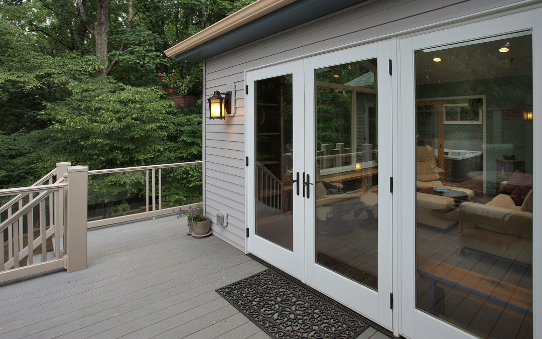 Silver Spring Maryland - Sunroom Addition - Deck - Interior Exterior Remodeling - M (32)
