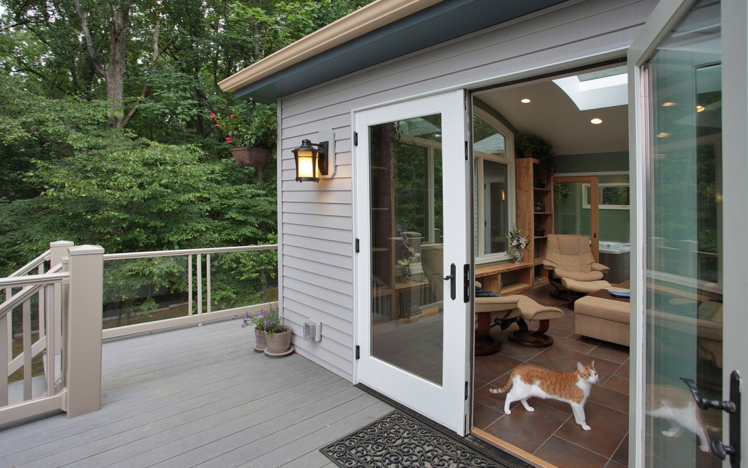 Silver Spring Maryland - Sunroom Addition - Deck - Interior Exterior Remodeling - M (33)