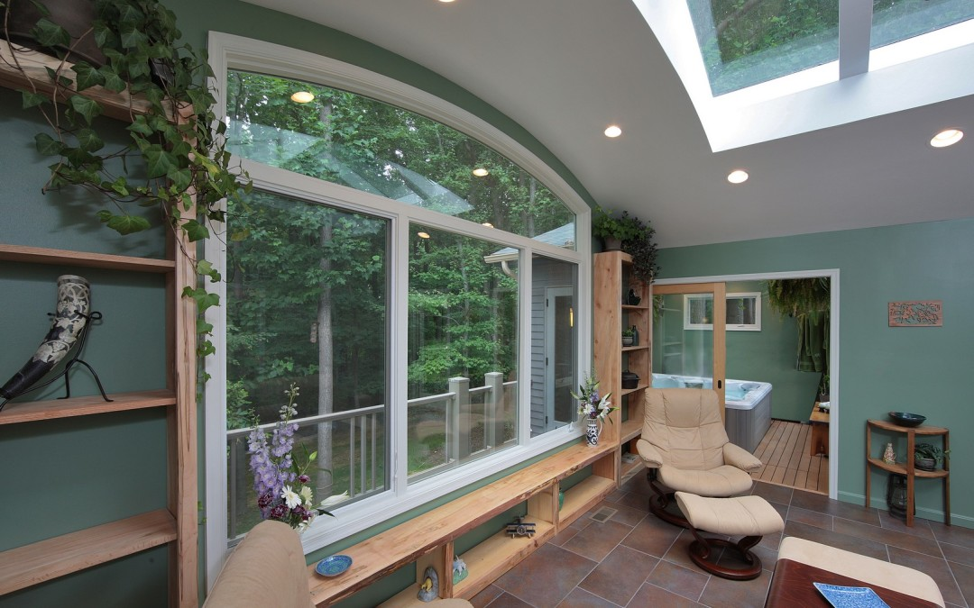 Silver Spring Maryland - Sunroom Addition - Deck - Interior Exterior Remodeling - M (40)