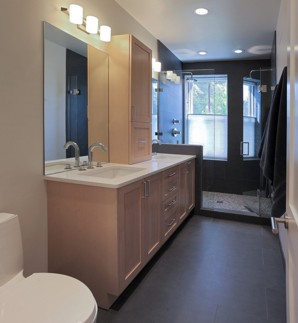 Master SuiteWashington DC Kingston Builders - Whole bathroom remodel